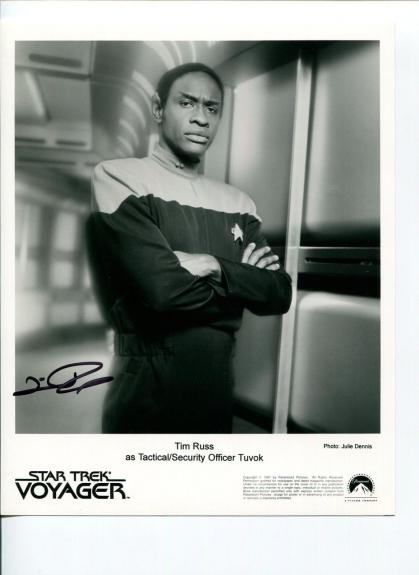 Tim Russ Star Trek Voyager The Twilight Zone Samantha Who Signed Autograph Photo