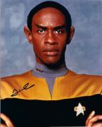 "Tim Russ ""tuvok"" Star Trek Autographed Signed 8x10 Photo W/coa"