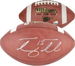 Tim Tebow Florida Gators Autographed NCAA Wilson Football - Mounted Memories