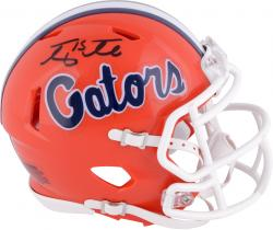 Tim Tebow Florida Gators Autographed Mini Helmet - Mounted Memories
