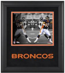 Tim Tebow Denver Broncos Framed Reflections 8'' x 10'' Photograph  - Mounted Memories