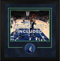 "Minnesota Timberwolves Deluxe 16"" x 20"" Frame -"