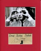 Timothy Leary Famous Psychologist LSD Researcher Signed Autograph Photo Display