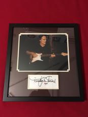 Timothy Schmitt Eagles Hotel California signed PSA/DNA framed 8x10 photo cut COA
