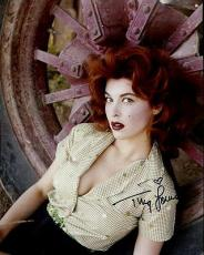 TINA LOUISE HAND SIGNED 8x10 COLOR PHOTO+COA       YOUNG+GORGEOUS+SEXY ACTRESS