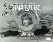 TINA LOUISE HAND SIGNED 8x10 PHOTO        GINGER FROM GILLIGAN'S ISLAND      JSA