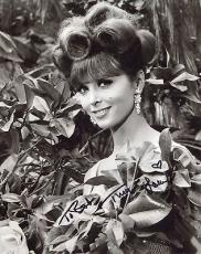 TINA LOUISE HAND SIGNED 8x10 PHOTO+COA    GINGER FROM GILLIGANS ISLAND    TO BOB