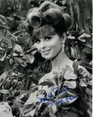 TINA LOUISE HAND SIGNED 8x10 PHOTO+COA       GINGER ON GILLIGAN'S ISLAND   TO ED