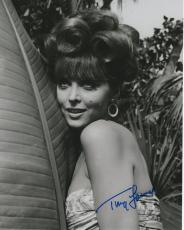 TINA LOUISE HAND SIGNED 8x10 PHOTO+COA         GORGEOUS+SEXY POSE AS GINGER