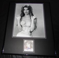 Tina Louise SEXY Signed Framed 16x20 Photo Display Gilligan's Island