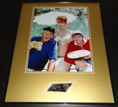 Tina Louise Signed Framed 16x20 Photo Display Gilligan's Island Ginger