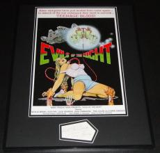 Tina Louise Signed Framed 16x20 Photo Poster Display Evils of the Night