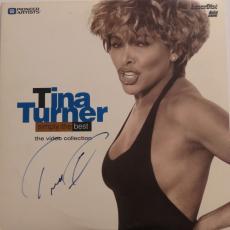 Tina Turner Signed Authentic Autographed Laser Disc PSA/DNA #Z39915