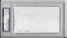 Tina Turner Signed Autographed Album Page PSA/DNA Authentic Slabbed