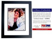 Tina Turner Signed - Autographed Singer - Songwriter 8x10 inch Photo BLACK CUSTOM FRAME - PSA/DNA Certificate of Authenticity (COA)