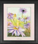 "Tinkerbell Disney Framed ""Delicate Petals"" 11"" x 14"" Matted Photo"