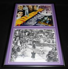 Tiny Doll Signed Framed 12x18 Photo Display Wizard of Oz
