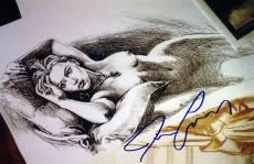 "Titanic - Jack's ""Drawing"" - Autographed by James Cameron"