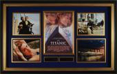 Titanic DiCaprio Winslet Autographed Movie Display