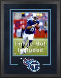 Tennessee Titans Deluxe 16'' x 20'' Vertical Photograph Frame with Team Logo - Mounted Memories