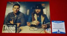 TJ JOHN BROTHERS OSBORNE stay a little longer signed 8x10 BAS beckett 2