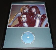 TLC Fanmail 1999 Framed 18x24 CD & Photo Poster Display