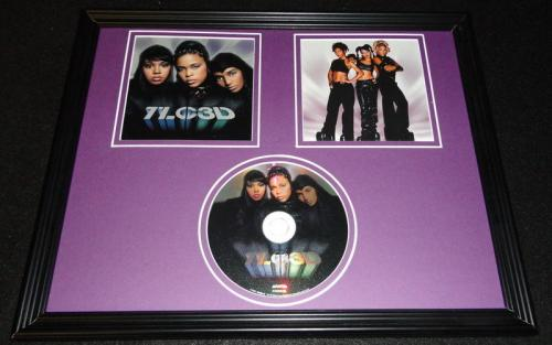 TLC Framed 11x14 3D 2002 CD & Photo Display Left Eye Lopes