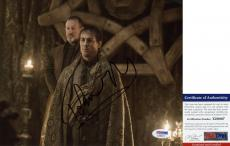 Tobias Menzies Signed 8x10 Outlander Game of Thrones Edmure Tully PSA/DNA