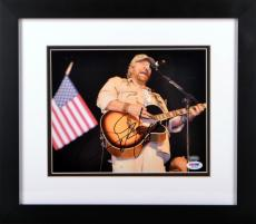 Toby Keith Autographed Photo - 8x10 Framed - PSA/DNA
