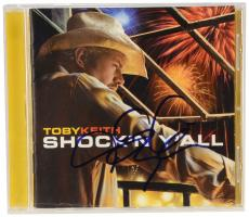 Toby Keith Autographed Shock'n Y'all CD Booklet - Beckett COA