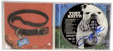 Toby Keith Autographed Unleashed CD - Beckett COA