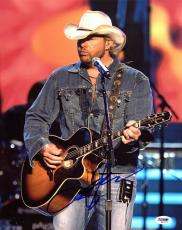 Toby Keith Country Music Signed 11x14 Photo Autographed PSA/DNA M42611