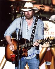 Toby Keith Country Musician Signed 8X10 Photo Autographed BAS #C19181