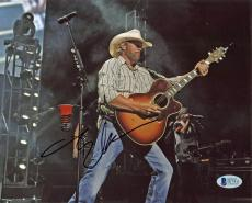 Toby Keith Country Musician Signed 8x10 Photo Autographed BAS #D17811