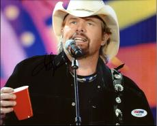 Toby Keith Country Musician Signed 8X10 Photo PSA/DNA #AA83529