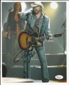 Toby Keith Country Singer Signed Auto 8x10 Photo JSA Certified Autograph