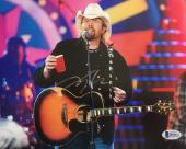 TOBY KEITH (Country Star) authentic autographed signed 8x10 photo-BAS B94311