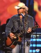 Toby Keith Signed 11X14 Photo Autographed PSA/DNA #M89852