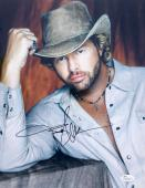 Toby Keith Signed 11x14 Photo Jsa M61208