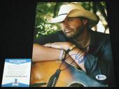 Toby Keith signed 8 x 10, Country, Should've Been a Cowboy, Beckett BAS B92957