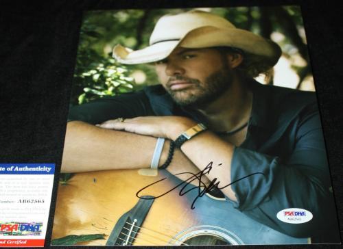 Toby Keith signed 8 x 10, Country, Should've Been a Cowboy, PSA/DNA