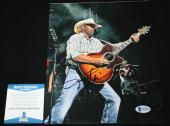 Toby Keith signed 8 x 10, Should've Been a Cowboy, Unleashed, Beckett BAS B92954