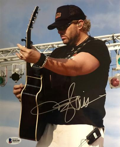Toby Keith Signed 8x10 Photo Beckett BAS B60206