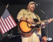 Toby Keith Signed 8x10 Photo Beckett BAS B60207