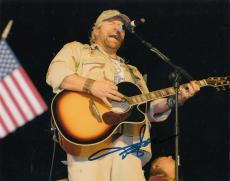 TOBY KEITH signed (AMERICAN SOLDIER) COUNTRY MUSIC 8X10 photo W/COA #1