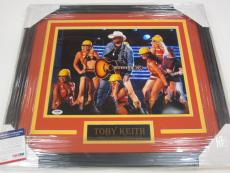 Toby Keith Signed Autographed 16x20 Framed Photo Framed Matted  Coa PSA DNA