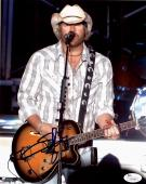 Toby Keith Signed Autographed 8x10 Photo JSA Authenticated - Country CMA