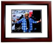 Toby Keith Signed - Autographed Concert 8x10 inch Photo - Guaranteed to pass PSA/DNA or JSA - MAHOGANY CUSTOM FRAME - Country Music Singer
