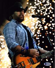 TOBY KEITH Signed Autographed Country Star 8x10 Photo Beckett BAS # C92450