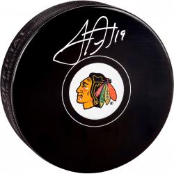 Chicago Blackhawks Jonathan Toews Autographed Puck - Mounted Memories